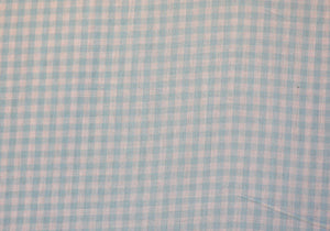 "1/4"" Mint Gingham Fabric"