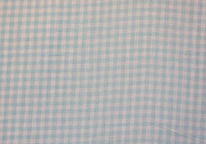 "1/4"" Mint Gingham Fabric WHOLESALE FABRIC- 20 Yard Bolt"