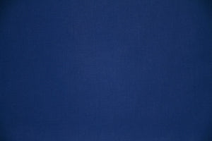 "108""/109"" Royal Blue Extra Wide Percale Sheeting - WHOLESALE FABRIC - 15 Yards"