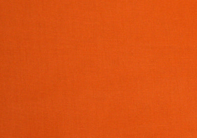 Orange 100% Cotton Harvest Broadcloth