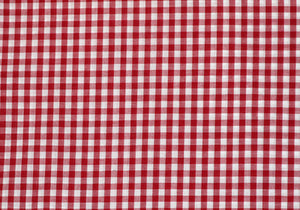 "1/4"" Red Gingham Fabric"