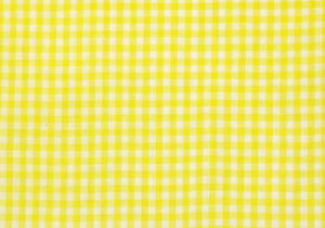 "1/4"" Yellow Gingham Fabric"