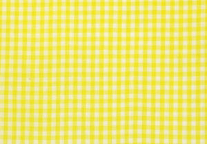 "1/4"" Yellow Gingham Fabric WHOLESALE FABRIC- 20 Yard Bolt"