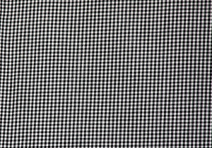 "1/8"" Black Gingham Fabric"