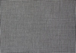 "1/8"" Black Gingham - WHOLESALE FABRIC - 20 Yard Bolt"