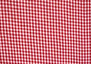 "1/8"" Red Gingham Fabric - WHOLESALE FABRIC - 20 Yard Bolt"