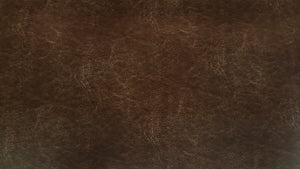 Discount Fabric ULTRA LEATHER Distressed Brown