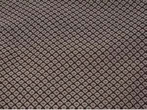 Discount Fabric JACQUARD Chocolate Diamond Upholstery & Drapery