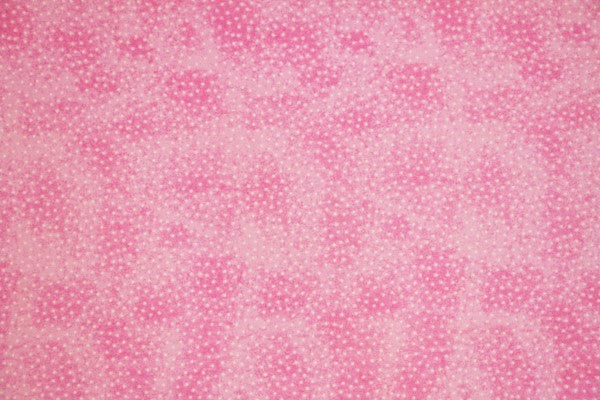 Dotted Pink Double Napped Flannel