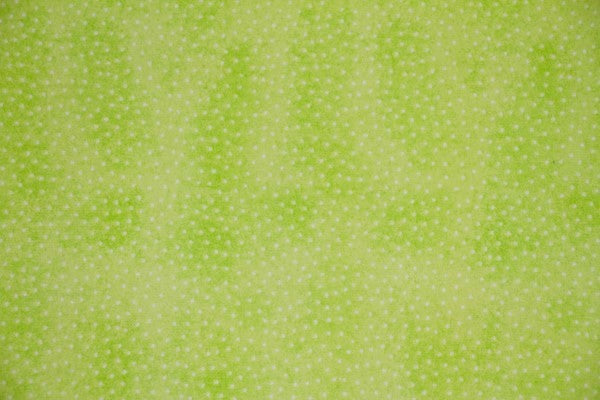Green Dot Double Napped Flannel