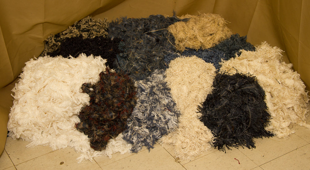 Navy, Country Blue, Ivory, White & Honey 60 Pound Trimmings Pack
