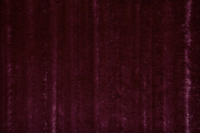 Faux Fur Burgundy MINK Fabric