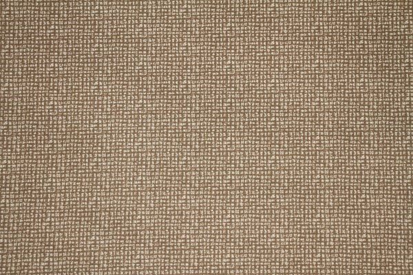 Discount Fabric DRAPERY Dark Tan Geometric Square