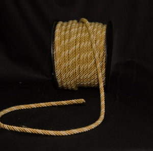 "1/4"" Beige, Gold & Taupe Decorative Cording - 5 Yards"