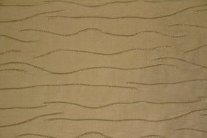 Discount Fabric JACQUARD Bronze Pintuck Wave Drapery