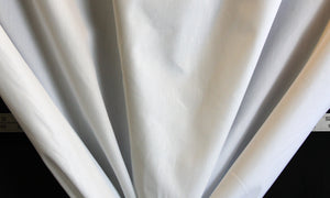 "54"" White Drapery Lining Fabric"