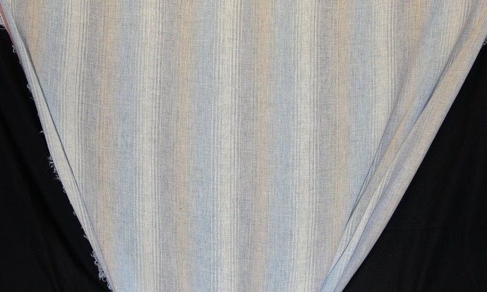 Discount Fabric OPEN WEAVE DRAPERY Waterfall Stripe