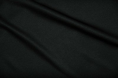 Black Scuba Knit - WHOLESALE FABRIC - 15 Yard Bolt