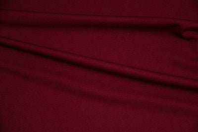 Burgundy Scuba Knit Fabric