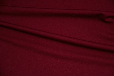 Burgundy Scuba Knit - WHOLESALE FABRIC - 15 Yard Bolt