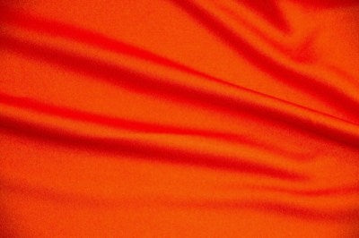 Orange Scuba Knit Fabric