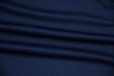 Navy Scuba Knit - WHOLESALE FABRIC - 15 Yard Bolt