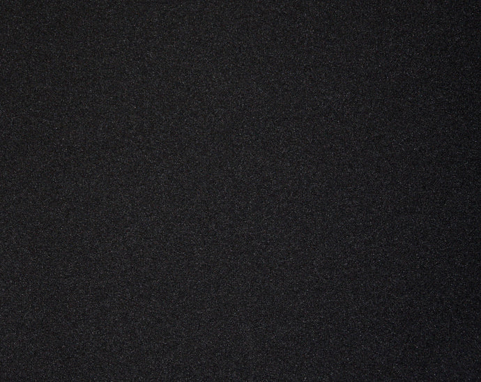 Black Double Knit - WHOLESALE FABRIC - 15 Yard Bolt