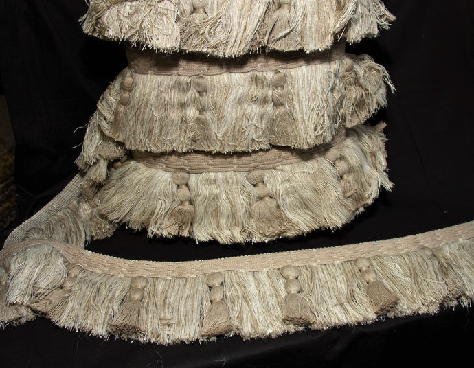 Taupe Decorative Fringe