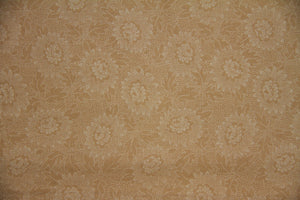 "108"" Camel Extra Wide 100% Cotton Fabric - Lacy"