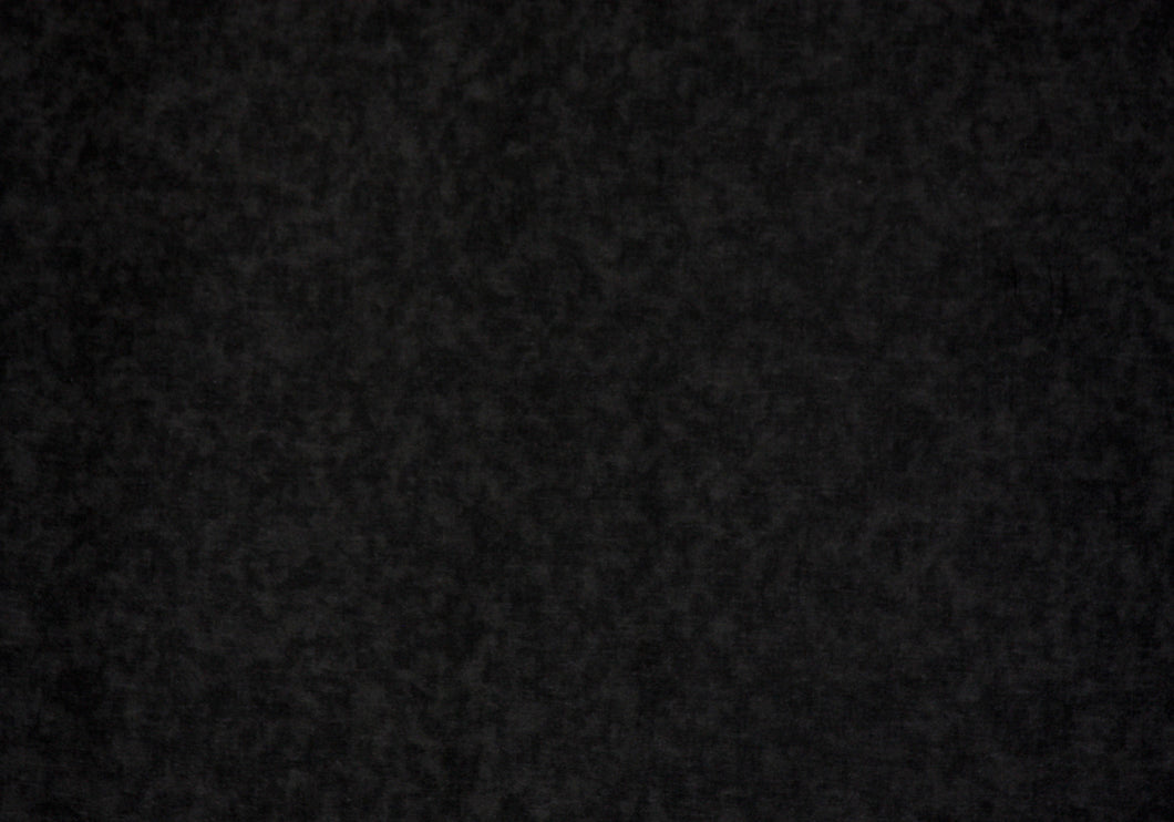 Black 100% Cotton Blender Fabric