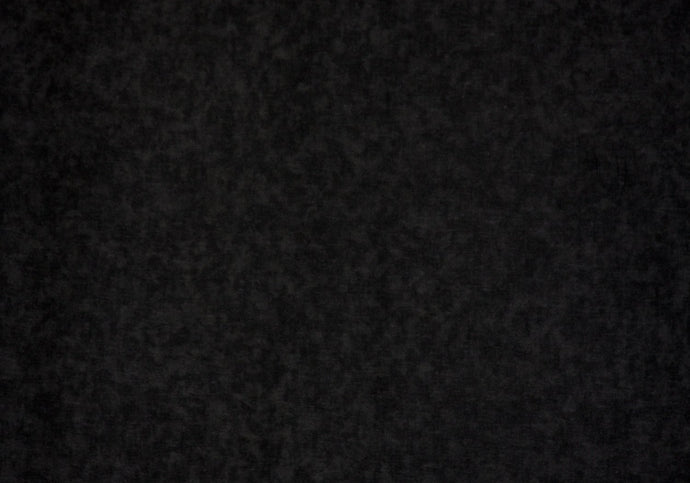 Black 100% Cotton Blender - WHOLESALE FABRIC - 15 Yard Bolt
