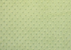 Mint Minky Dot - WHOLESALE FABRIC - 12 Yard Bolt