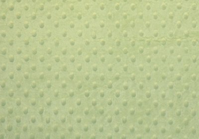 Mint Minky Dot-WHOLESALE FABRIC- 12 Yard Bolt
