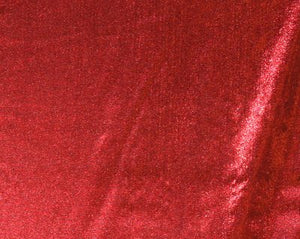 Red Tissue Lamé-WHOLESALE FABRIC- 12 Yard Bolt