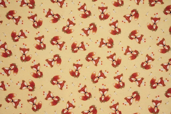 Little Fox Double Napped Flannel