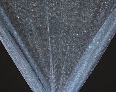 Light Blue Sparkle Glitter Tulle-WHOLESALE FABRIC--15 Yard Bolt