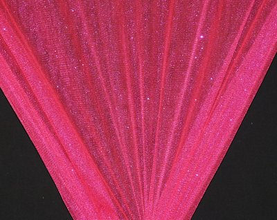 Fuchsia Sparkle Glitter Tulle - WHOLESALE FABRIC - 15 Yard Bolt