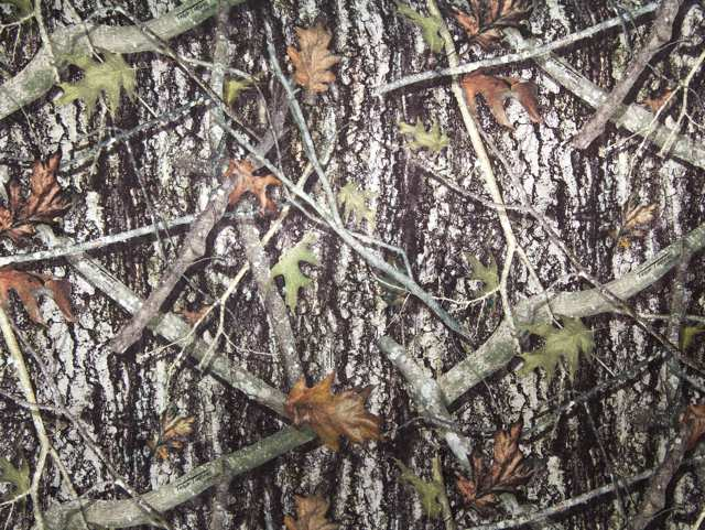 True Timber New Conceal Silver Camouflage Charmeuse Satin--WHOLESALE FABRIC--15 Yard Bolt