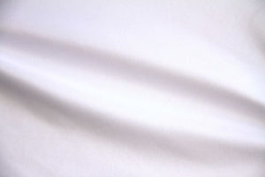 "118/120"" White Tablecloth Poplin Fabric"