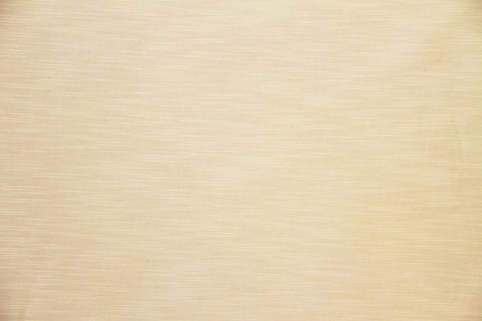 Discount Fabric DRAPERY Cream Slub Faux Satin