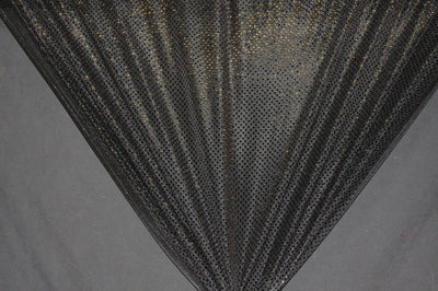 Black Dot Sequin Knit Fabric