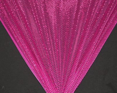 Fuchsia Dot Sequin Knit - WHOLESALE FABRIC - 12 Yard Bolt