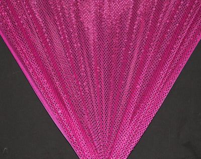 Fuchsia Dot Sequin Knit