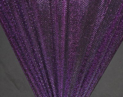Purple Dot Sequin Knit - WHOLESALE FABRIC - 12 Yard Bolt