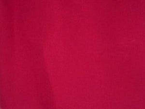 "63"" Primary Red Twill Fabric"