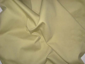 "58"" Sea Mist Yellow-Green Twill Fabric"