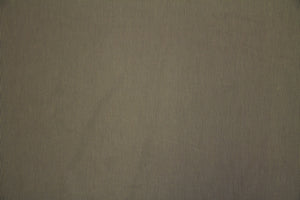 "58"" Taupe and Tan Stripe Poly/Cotton Fabric"