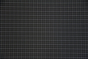"59/60"" Black and White Plaid Poly/Cotton Fabric"