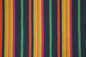 "61"" Multi-Stripe Poly/Cotton Fabric"