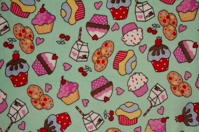 Ultra Plush Whisper Fleece Fabric--Sweet Shop Mint